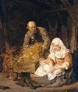 Jan de Bray The Holy Family oil painting reproduction