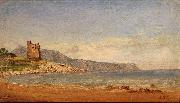 Jasper Francis Cropsey View of Capri oil on canvas