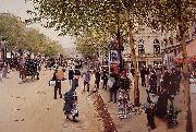 Jean Beraud Boulevard des capucines oil painting reproduction