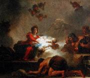 Jean-Honore Fragonard The Adoration of the Shepherds. oil painting reproduction