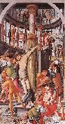 Jerg Ratgeb Flagellation of Christ oil