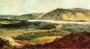 Johann Christian Brand Donaulandschaft bei Wien oil on canvas