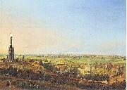 Johann Heinrich Hintze Blick vom Kreuzberg oil painting reproduction
