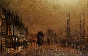 John Atkinson Grimshaw The Broomielaw oil painting