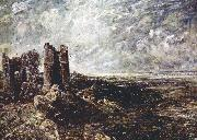 John Constable Hadleight Castle painting