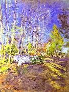 Konstantin Alekseevich Korovin Spring oil painting reproduction