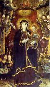 Krzysztof Aleksander Boguszewski Virgin Mary on the dragon surrounded by angels china oil painting artist