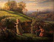 Louis Janmot Spring oil painting reproduction