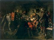 Louis Leopold  Boilly The Death of Czarniecki oil painting reproduction