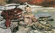 Lovis Corinth Stillleben mit Pagode oil painting reproduction