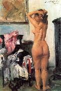 Lovis Corinth Modellpause oil painting reproduction