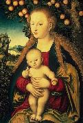 Lucas Cranach Virgin and Child under an Apple Tree china oil painting artist