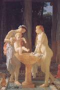 Marc Charles Gabriel Gleyre The Bath oil on canvas