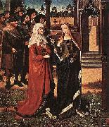Master of the Legend of St. Lucy Scene from the St Lucy Legend oil on canvas