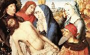 Master of the Legend of St. Lucy Lamentation oil on canvas