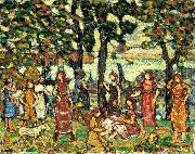 Maurice Brazil Prendergast Autumn oil painting reproduction