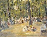 Max Liebermann Kinderspielplatz im Berliner Tiergarten oil painting reproduction