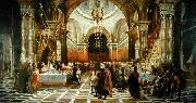 Miranda, Juan Carreno de Belshazzar's Feast oil painting reproduction