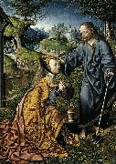 Oostsanen, Jacob Cornelisz van Christ Appearing to Mary Magdalen as a Gardener oil on canvas