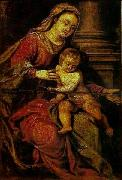 Paolo Veronese Madonna and Child oil painting reproduction