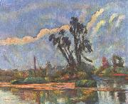 Paul Cezanne Ufer der Oise oil painting reproduction