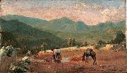 Pedro Weingartner Italian landscape oil painting reproduction