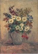 Pierre Laprade Vase de fleurs oil on canvas