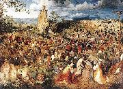 Pieter Bruegel the Elder Christ Carrying the Cross oil painting reproduction