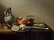 Pieter Claesz Tobacco Pipes and a Brazier oil painting reproduction