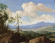 Pieter de Molijn Panoramic Hilly Landscape oil on canvas