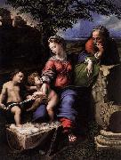 RAFFAELLO Sanzio Holy Family below the Oak painting