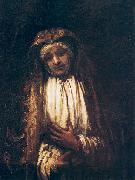 REMBRANDT Harmenszoon van Rijn The Virgin of Sorrow oil painting reproduction
