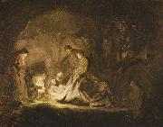 REMBRANDT Harmenszoon van Rijn Grablegung Christi oil painting reproduction