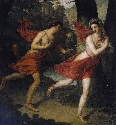 Robert Lefere Pauline as Daphne Fleeing from Apollo oil