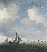 Saloman van Ruysdael View of Alkmaar oil