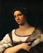Sebastiano del Piombo Portrait of a Woman oil painting reproduction