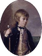 Thomas Hickey Henry William Baynton painting