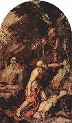 Titian Hl. Hieronymus painting