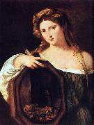 Titian Profane Love oil painting reproduction