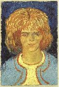 Vincent Van Gogh Head of a girl painting