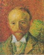 Vincent Van Gogh Portrait of the Art-trader Alexander Reid oil painting reproduction