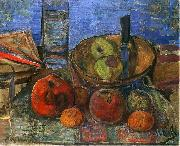 Zygmunt Waliszewski Still life with apples. oil