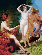 Baron Jean-Baptiste Regnault The Judgment of Paris oil painting reproduction