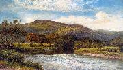 Benjamin Williams Leader The Conway Near Bettws y Coed oil on canvas