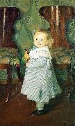 Boris Kustodiev The Artist's Daughter, Irina china oil painting artist
