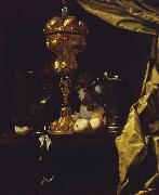 COUWENBERGH, Christiaen van Still Life with a Silver Gilt Cup oil on canvas