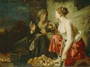 Caesar van Everdingen Vertumnus and Pomona oil on canvas