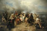 Carl Wimar Battle of Lutzen oil on canvas