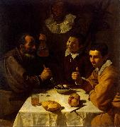 Diego Velazquez Lunch oil painting reproduction