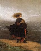 Eastman Johnson The Girl I left behind me oil painting reproduction